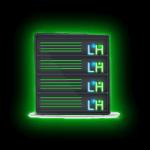 Luzi Host – Servidor dedicado neon